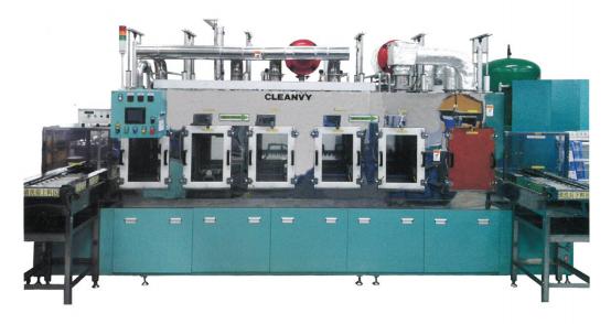 CONVEYOR HIGH-PRESSURE ULTRASONIC CLEANING MACHINE (Máquina Lavado Ultrasónica c/Transportadora)