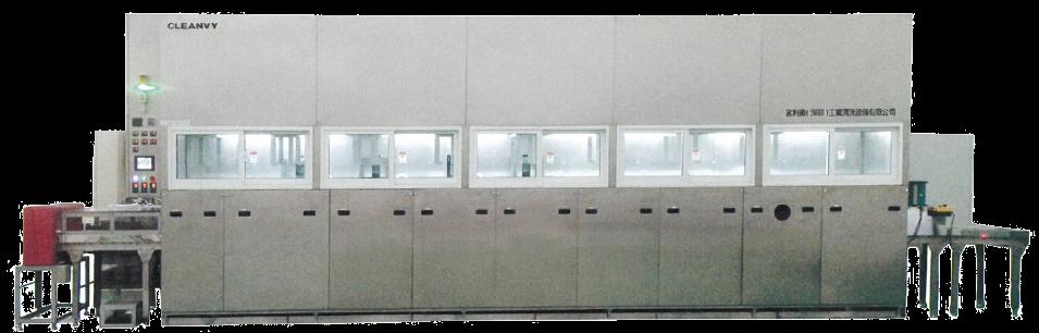 FULL AUTO CLEANING/DRYING MACHINE (Máquina Lavado/Secado Automatizada)