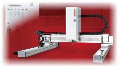 JC-3 Series Cartesian Robot (Robot Cartesiano 3 Ejes)