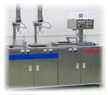 TORNADO Ultrasonic Cleaning System (Sistema de Lavado Ultrasónico Mixto)