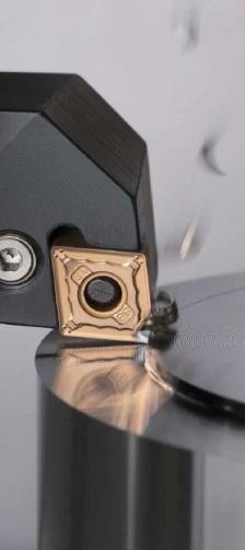 CA025P CVD Coated Carbide Inserts (Insertos de Cobertura de Carburo)
