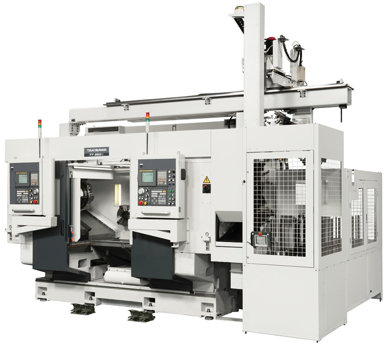 TT Series w/Parallel Twin Spindle / Twin Tool-Slide (Doble Chuck Paralelo)