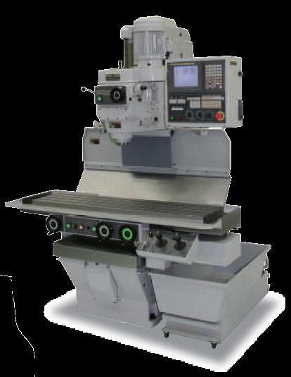 Fresadora de Control Numérico NC - NC MILLING MACHINE